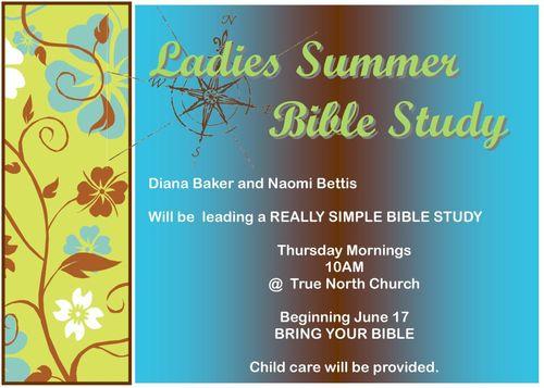 Ladies Summer Bible Study 124